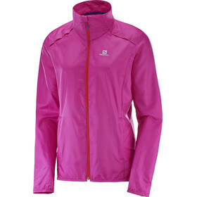 Salomon Agile Wind Jacket Women rose violet